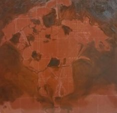 Underpainting on toned ground